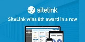 SiteLink Wins 8th Best Management Software Award