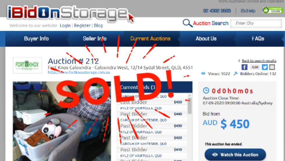I bid On Storage